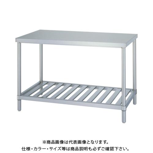 【運賃見積り】 【直送品】 シンコー ステンレス作業台スノコ棚 WS-6060