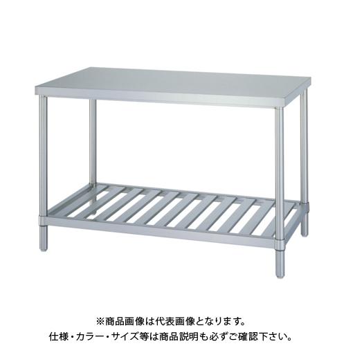 【運賃見積り】 【直送品】 シンコー ステンレス作業台スノコ棚 WS-12060