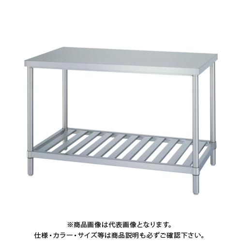 【運賃見積り】 【直送品】 シンコー ステンレス作業台スノコ棚 WS-12075