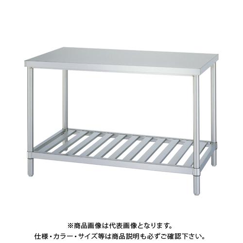 【運賃見積り】 【直送品】 シンコー ステンレス作業台スノコ棚 WSN-6045