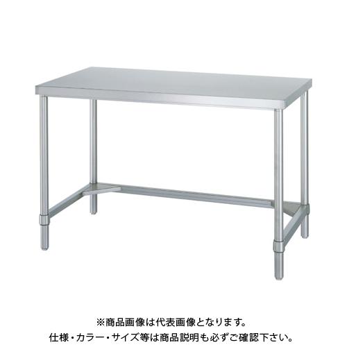 【運賃見積り】 【直送品】 シンコー ステンレス作業台三方枠 WT-6045