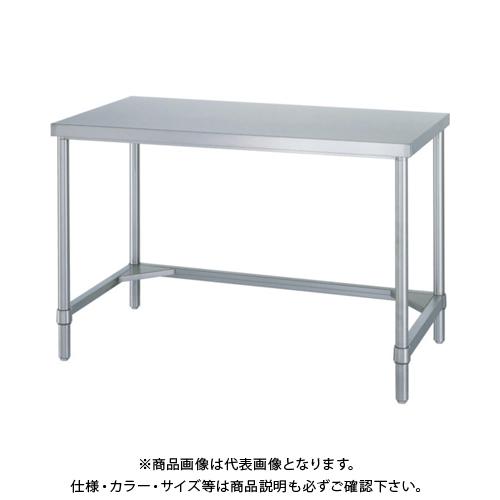 【運賃見積り】 【直送品】 シンコー ステンレス作業台三方枠 WT-9090