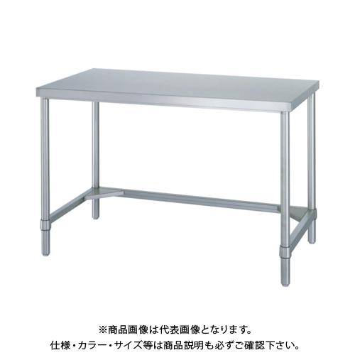 【運賃見積り】 【直送品】 シンコー ステンレス作業台三方枠 WT-18090