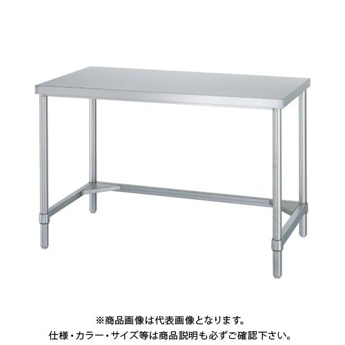 【運賃見積り】 【直送品】 シンコー ステンレス作業台三方枠 WTN-9060