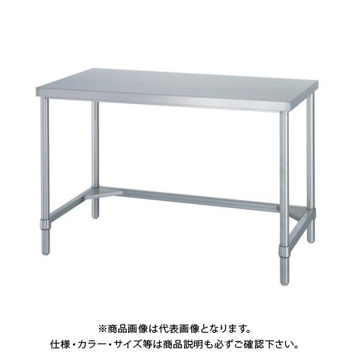 【運賃見積り】 【直送品】 シンコー ステンレス作業台三方枠 WTN-9090