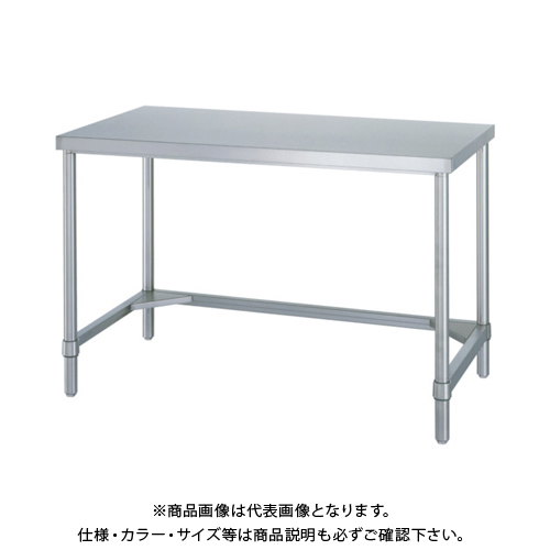 【運賃見積り】 【直送品】 シンコー ステンレス作業台三方枠 WTN-12060