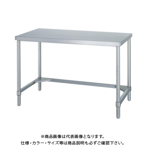 【運賃見積り】 【直送品】 シンコー ステンレス作業台三方枠 WTN-15075