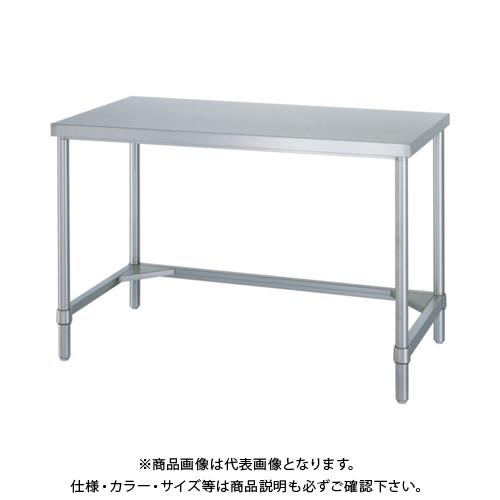 【運賃見積り】 【直送品】 シンコー ステンレス作業台三方枠 WTN-18090