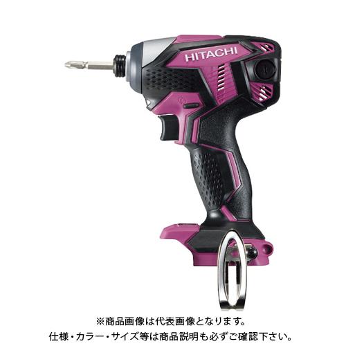 HiKOKI 18Vコードレスインパクトドライバ本体のみ ピンク WH18DKL-NN-R