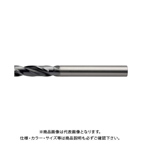 ユニオンツール 超硬2枚刃フラットドリル 直径9,5×溝長19×全長90 UTDF2950-190