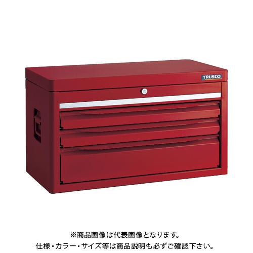 【運賃見積り】【直送品】TRUSCO トップチェスト(3段) TRC-C3