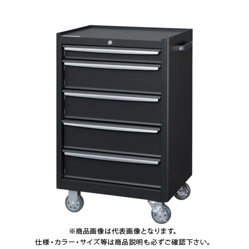 【運賃見積り】 【直送品】 ダイシン ツ‐ルケ‐スワゴンTWZ‐925Bブラック TWZ-925B