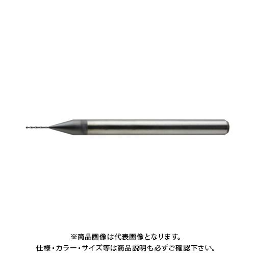 ユニオンツール 2枚刃ユニマックスドリル φ1,7×溝長10×全長38 UDCMX2170-100