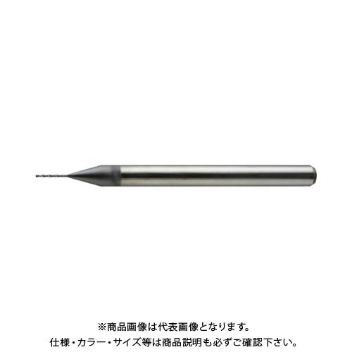 ユニオンツール 2枚刃ユニマックスドリル φ1,8×溝長10×全長38 UDCMX2180-100