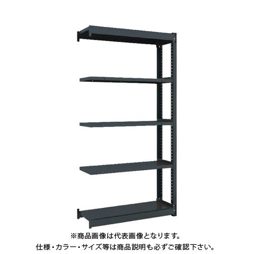 【運賃見積り】 【直送品】 TRUSCO 軽量ボルトレス棚TSUF型 連結タイプ 900X340XH1800 TSUF100-63K-5B-HBK