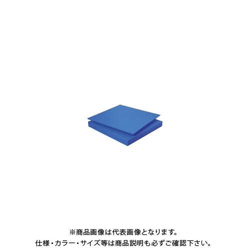 【6月5日限定!Wエントリーでポイント14倍!】【個別送料1000円】【直送品】タキロン スーパーキャストナイロン 40T×500×1000 青 TP-MCN-PLATE-550-40-500-1000