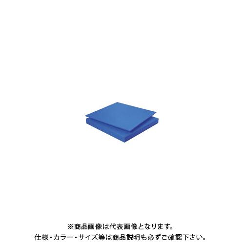【個別送料1000円】【直送品】タキロン スーパーキャストナイロン 50T×500×1000 青 TP-MCN-PLATE-550-50-500-1000