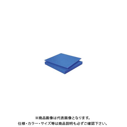 【個別送料1000円】【直送品】タキロン スーパーキャストナイロン 60T×500×1000 青 TP-MCN-PLATE-550-60-500-1000
