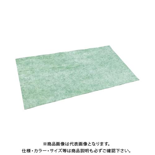 TRUSCO ノンスリップオイルキャッチャーマット 緑 500X900 10枚入 TOFP-5090-10