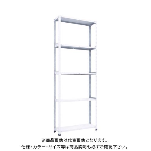 【運賃見積り】 【直送品】 TRUSCO 軽量150型開放棚 W900XD300XH2400 5段 TLA83K-15