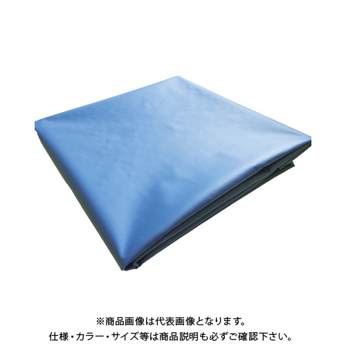 【6月5日限定!Wエントリーでポイント14倍!】TRUSCO ターポリンシート ブルー 3600X5400 0.35mm厚 TPS3654-B