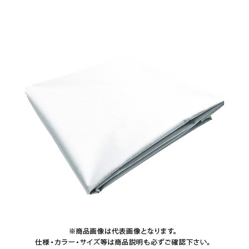 TRUSCO ターポリンシート ホワイト 3600X5400 0.35mm厚 TPS3654-W