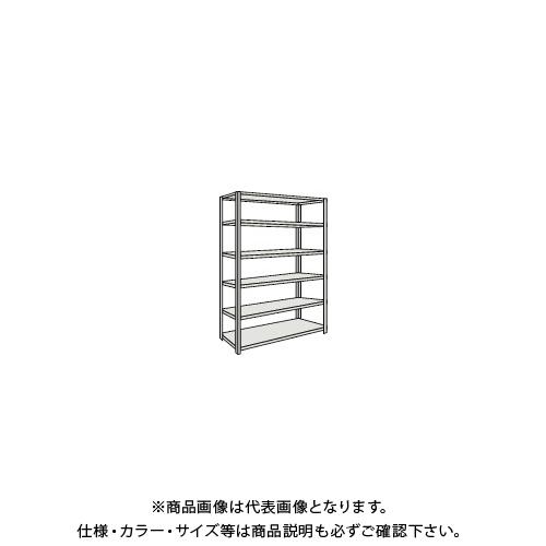 【運賃見積り】 【直送品】 TRUSCO 軽量150型開放棚 W900XD300XH2400 6段 TLA83K-16