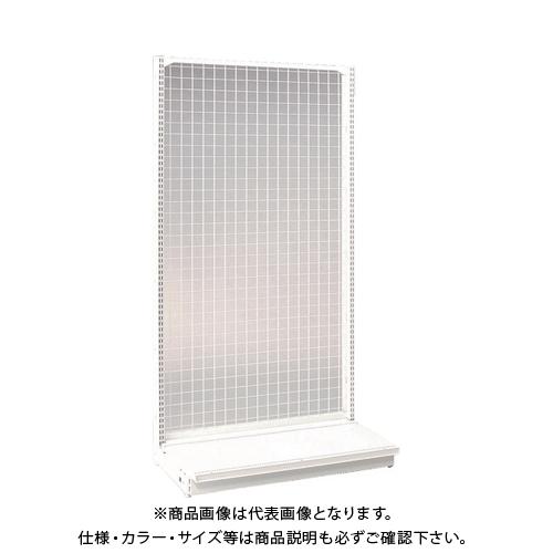 【運賃見積り】 【直送品】 タテヤマアドバンス KZ片面ネットタイプ本体 W90×D45×H165 SX1653
