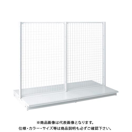 【運賃見積り】 【直送品】 タテヤマアドバンス KZ両面ネットタイプ本体 W120×D70×H150 SX0821