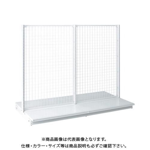 【運賃見積り】 【直送品】 タテヤマアドバンス KZ両面ネットタイプ連結 W90×D70×H180 SX0740