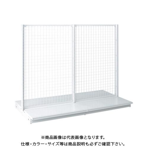【運賃見積り】 【直送品】 タテヤマアドバンス KZ両面ネットタイプ連結 W90×D120×H180 SX0748