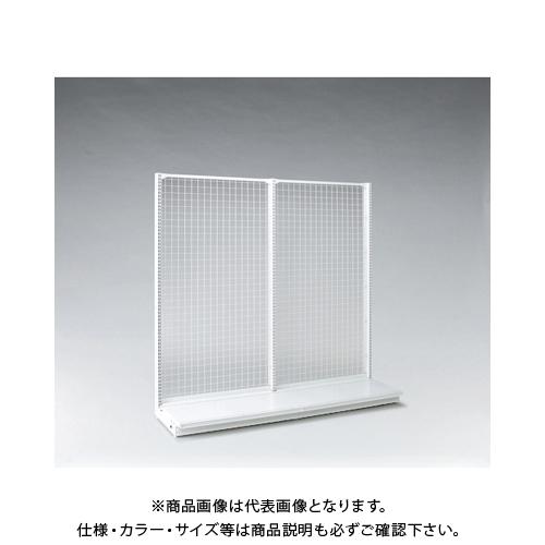 【運賃見積り】 【直送品】 タテヤマアドバンス KZ片面ネットタイプ本体 W60×D60×H180 SX1439