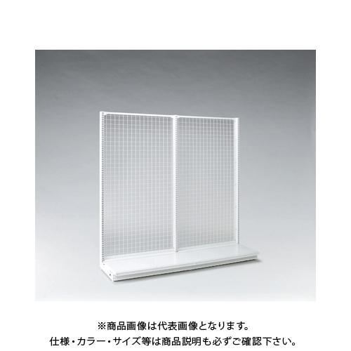 【運賃見積り】 【直送品】 タテヤマアドバンス KZ片面ネットタイプ本体 W90×D45×H150 SX1637