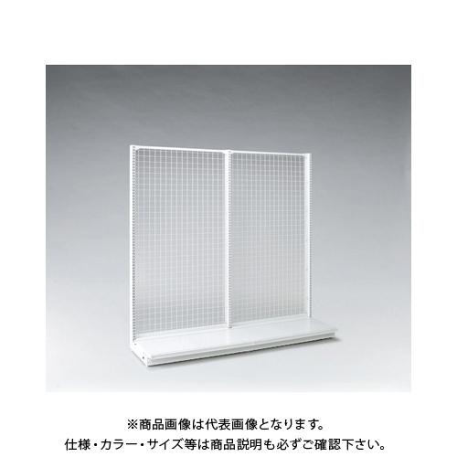 【運賃見積り】 【直送品】 タテヤマアドバンス KZ片面ネットタイプ本体 W120×D45×H150 SX1753