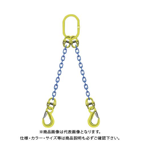 マーテック 2本吊りチェンスリングセット L=1.5m TA2-EKN-10