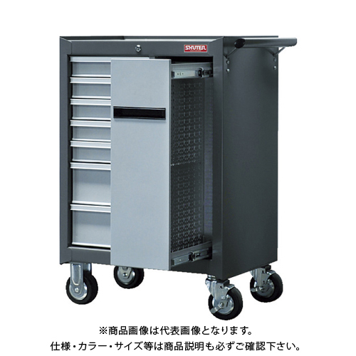 SHUTER 重量キャビネットカート TC-H25 15台 TC-H25