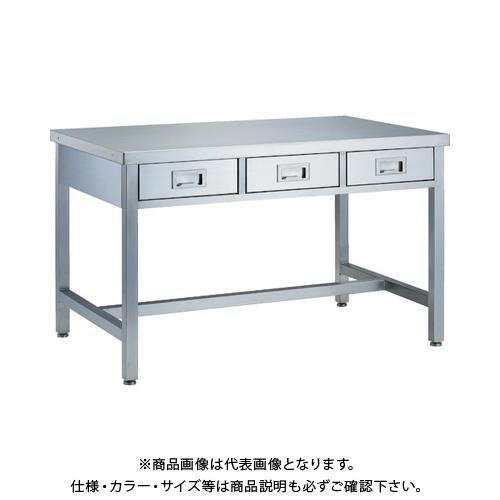 【運賃見積り】 【直送品】 TRUSCO オールステンレス引出付作業台 引出4個付 2000X600 SWD3-2060