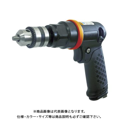 TRUSCO エアードリル 10mmチャック 軽量ボディ TADR-10
