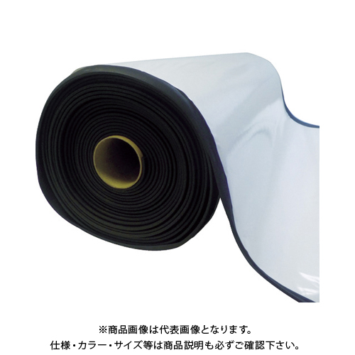 TRUSCO EPDMスポンジロール テープ付 10mm厚 幅1000mmX10m TAFLT-10-10100