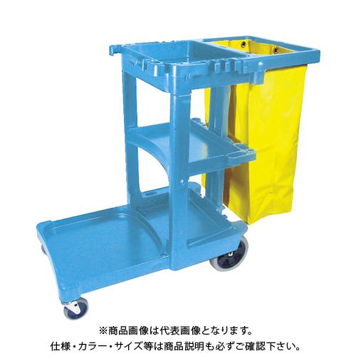【運賃見積り】 【直送品】 ラバーメイド ジャニターカート RM617388BL