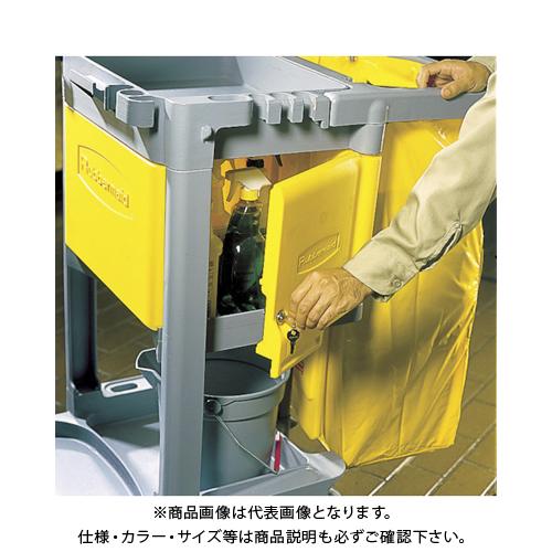 ラバーメイド ジャニターカート用 ロック付きキャビネットドアキット RM6181YL