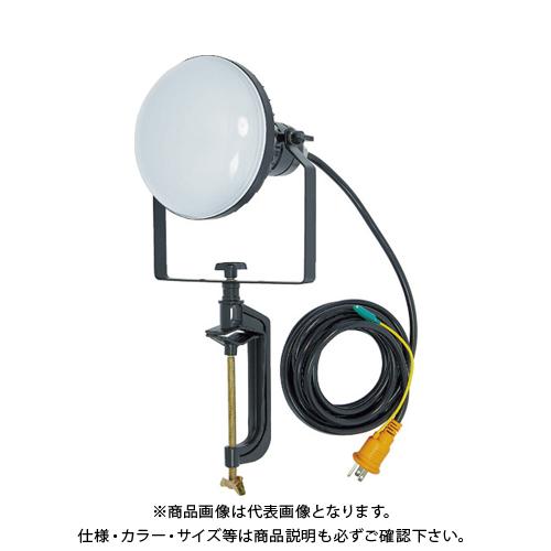 TRUSCO LED投光器 DELKURO バイスタイプ 50W 5m アース付 2芯3芯両用タイプ RTLE-505EP-V