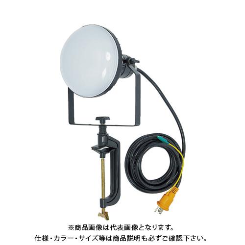 【6月5日限定!Wエントリーでポイント14倍!】TRUSCO LED投光器 DELKURO バイスタイプ 50W 10m アース付 2芯3芯両用タイプ RTLE-510EP-V