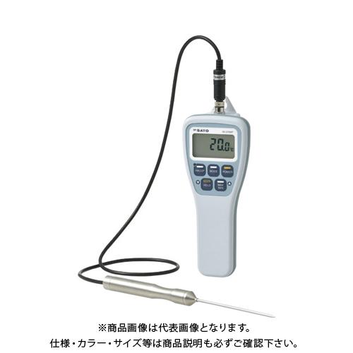 佐藤 防水型食品用温度計SKー270WP(標準センサ付)(8078-00) SK-270WP