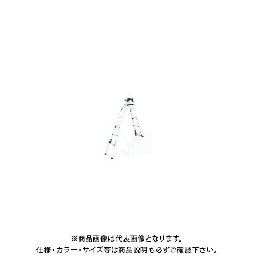 【運賃見積り】【直送品】ピカ 四脚アジャスト式脚立スーパーかるノビSCN型階段用 SCN-34