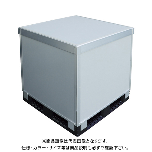 【運賃見積り】 【直送品】 TRUSCO スタックカーゴ4面パネルタイプ 1100X1100XH400 SCP4-1140
