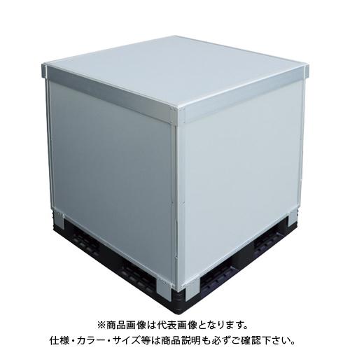 【運賃見積り】 【直送品】 TRUSCO スタックカーゴ4面パネルタイプ 1100X1100XH800 SCP4-1180