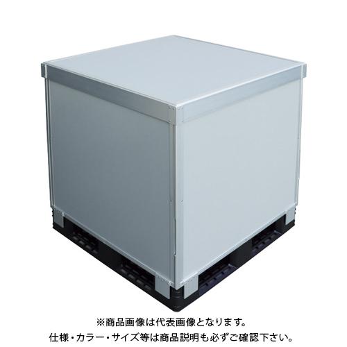 【運賃見積り】 【直送品】 TRUSCO スタックカーゴ4面パネルタイプ 1100X1100XH900 SCP4-1190