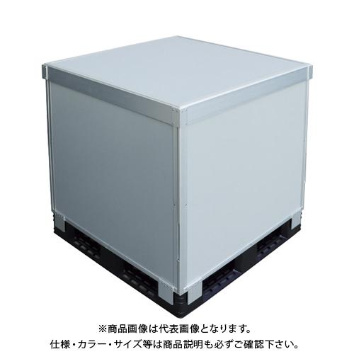 【運賃見積り】 【直送品】 TRUSCO スタックカーゴ4面パネルタイプ 1100X1100XH1000 SCP4-11100