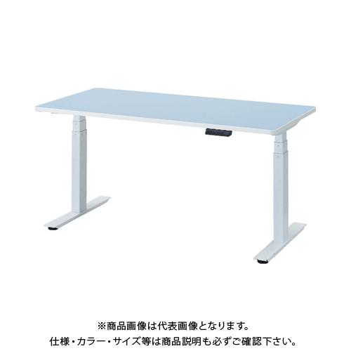 【運賃見積り】 【直送品】 TRUSCO リノリューム天板 電動昇降式ワークデスク 1500×750×620~1275 RMB-1575